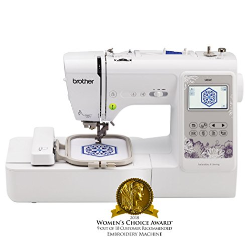 Brother SE 600 embroidery machine