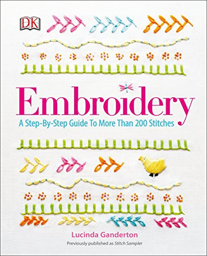 embroidery sewing guide book