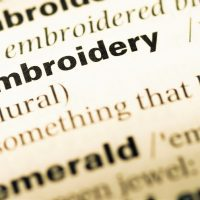 Embroidery Terms Glossary