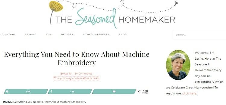 The Seasoned Homemaker