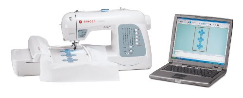 Singer Futura XL-400 Portable Sewing and Embroidery Machine