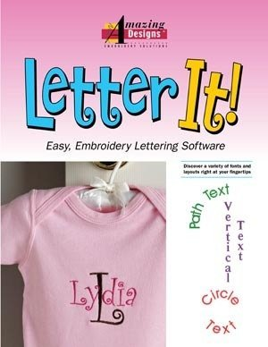 Letter it embroidery software