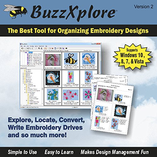BuzzXplore Embroidery Design Software