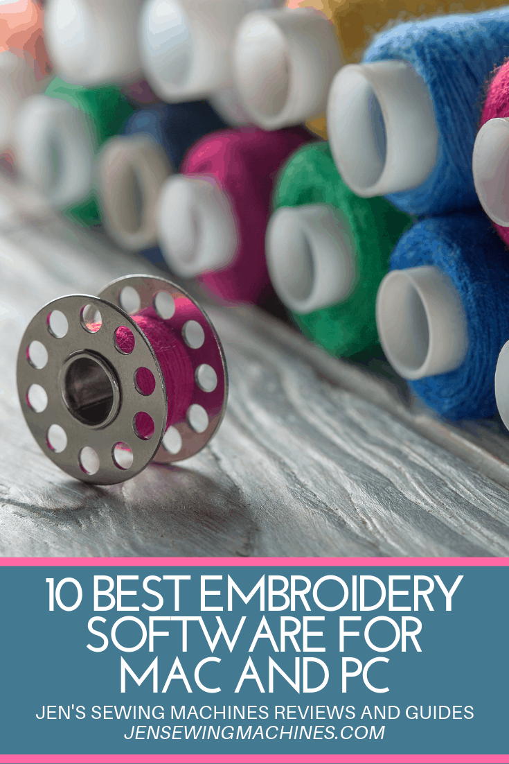 Best Embroidery Software for Mac and PC