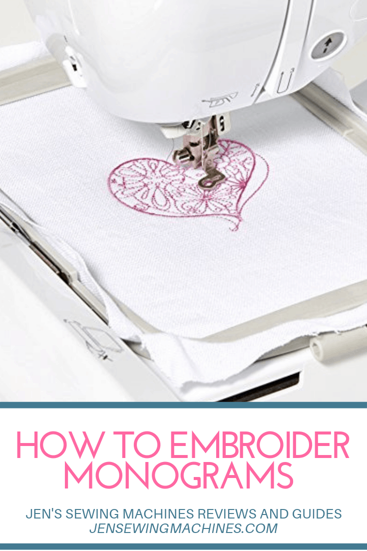 How to Embroider Monograms
