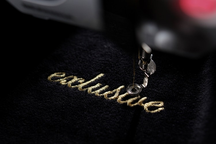 Customizing Embroidery