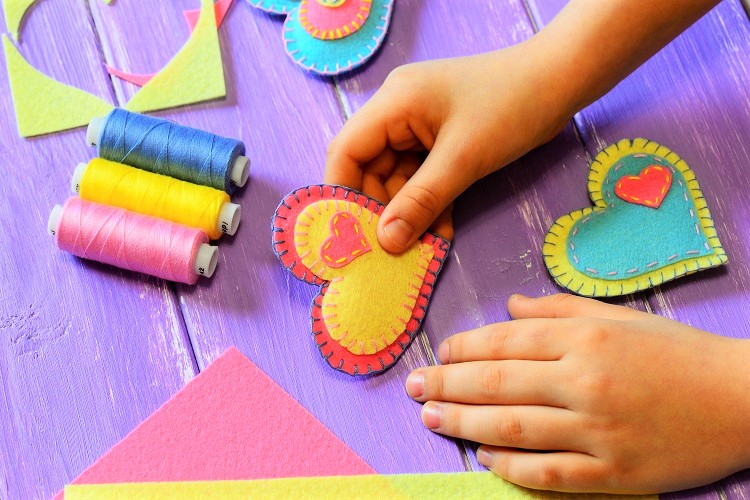 Felt Embroidery - How to Create Felt Embroidery