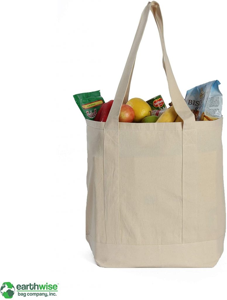 cotton shopping bag for embroidery