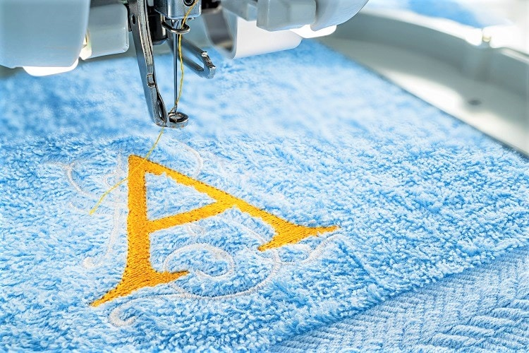 Personalized Embroidered Towels