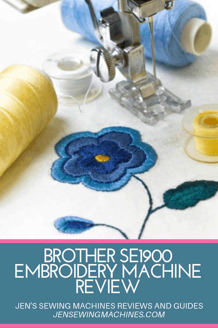 Brother SE1900 Embroidery Machine Review