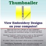 best embroidery software