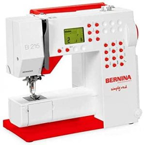 Bernina 215 simply red sewing machine